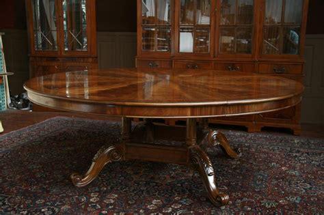 large round table furniture extra large round mahogany dining table large