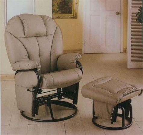 best prices bone leatherette glider rocker recliner chair