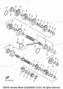 Yamaha Motorcycle 2006 Oem Parts Diagram For Transmission