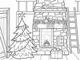 Coloring Prairie Tree Printable Plum Printables Creek Inside Houses Snow sketch template