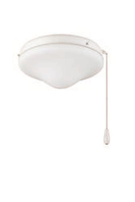 turn of the century white outdoor ceiling fan light kit at menards 174
