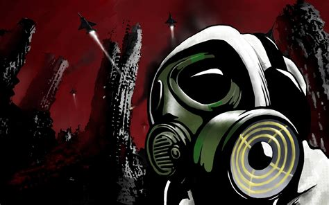 Anime Dubstep Wallpaper - anime gas mask wallpaper wallpapersafari