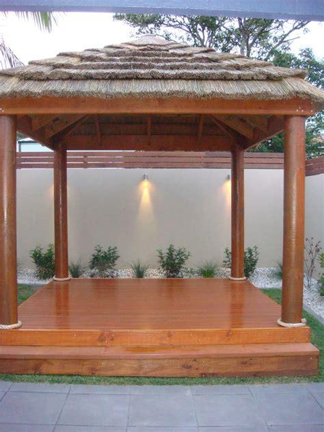 african thatch entertaining area bali huts balinese garden outdoor gazebos