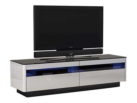 meuble tv blanc  bois clair