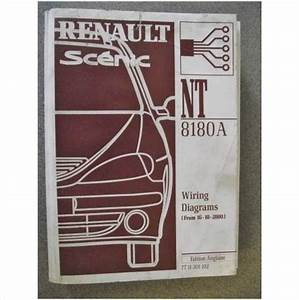 Renault Scenic Wiring Diagrams Manual 2001 Nt8180a