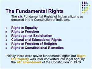 Fundamental Rights of Indian Citizens – Political Science ...