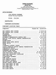 1997 Honda Prelude Engine Wiring Diagram