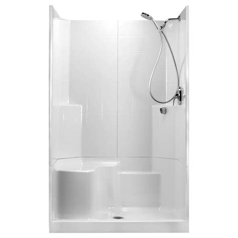 36 Shower Stall - ella 48 in x 36 in x 80 in std 3 low threshold