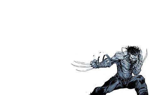 Wallpaper Minimalism, Logan, Black And White, Wolverine