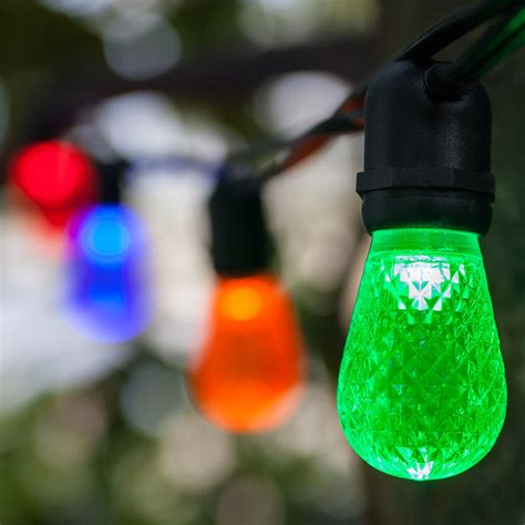 patio lights commercial multicolor led party lights