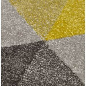 tapis jaune gris idees de decoration interieure french With tapis jaune gris