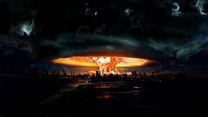 Explosion Nuclear Darkness Wallpapers Wallpapersafari