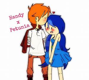 Handy x Petunia by charusan on DeviantArt