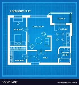 Apartment, Floor, Plan, Blueprint, Royalty, Free, Vector, Image, Aff, Plan, Blueprint, Apartment