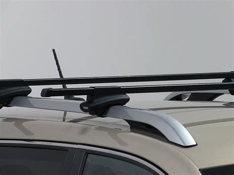thule roof racks thule crossroad roof mounted roof railing foot pack thule
