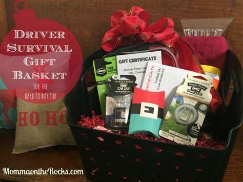 driver survival gift basket survival gift gift baskets