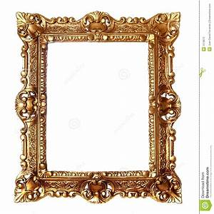 Gold Frame Clipart - Clipart Suggest