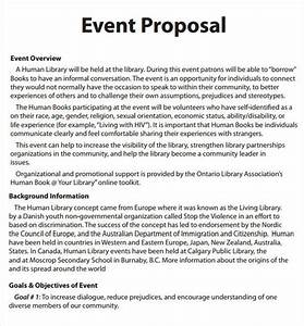 event proposal template 16 download free documents in With sample of introduction letter of event management company