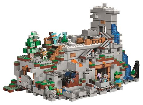 Lego Set by 21137 The Mountain Cave Is The Minecraft Lego Set Yet