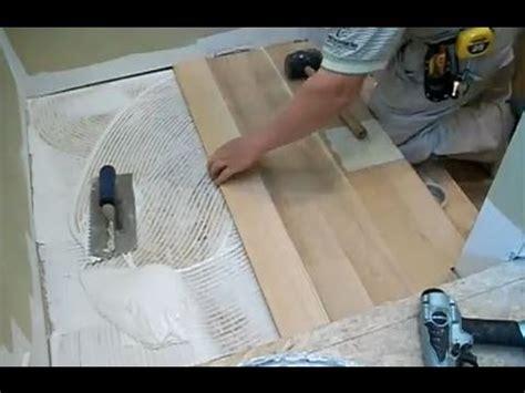 stairs installation installing hardwood  stair landing