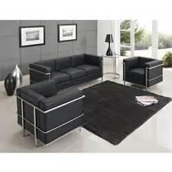 design le le corbusier lc2 sofa set lc2 1 2 3 seater sofa modern design living room sofa set in living