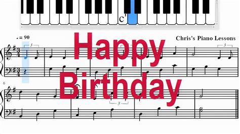 Pdf, digital, printable youtube piano tutorial. Happy Birthday Piano Sheet Music Advanced - Epic Sheet Music