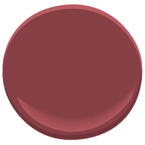 Pottery Red 208520 Paint  Benjamin Moore Pottery Red