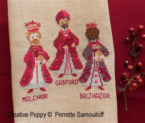 perrette samouiloff  kings cross stitch pattern