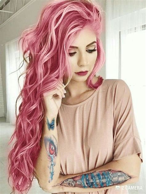 Pink Hair Color On Inspirationde