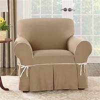 chair slip cover Simple Barrel Chair Slipcovers   HomesFeed