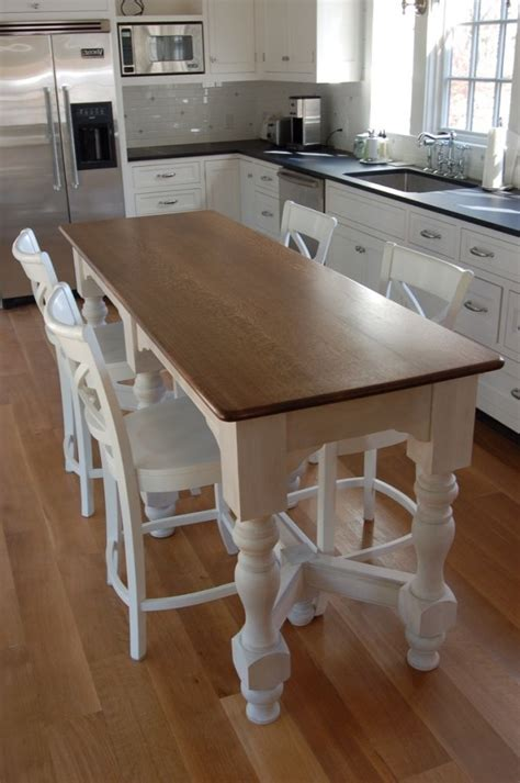 island table for small kitchen the 25 best narrow kitchen island ideas on 7603