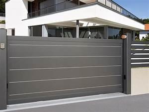 portail maison stunning zoom with portail maison With marvelous porte de maison prix 2 comment choisir un portillon en aluminium le portail alu