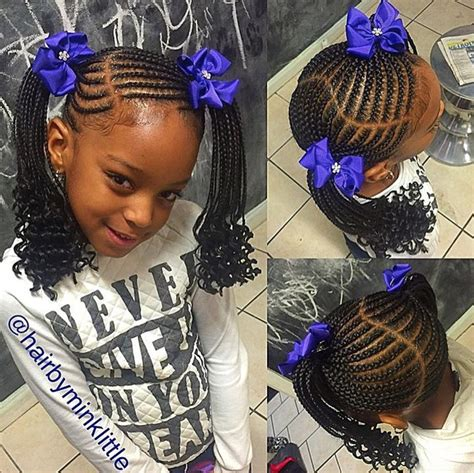Braided Kid Hairstyles by Hairbyminklittle Http Community