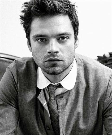 ️📱 Sebastian Stan 📽️ B/W Edit 📸 in 2020 | Sebastian stan ...