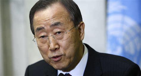 secretaire general de l union africaine ban ki moon favorable 224 une 171 multinationale contre boko haram 187 sputnik