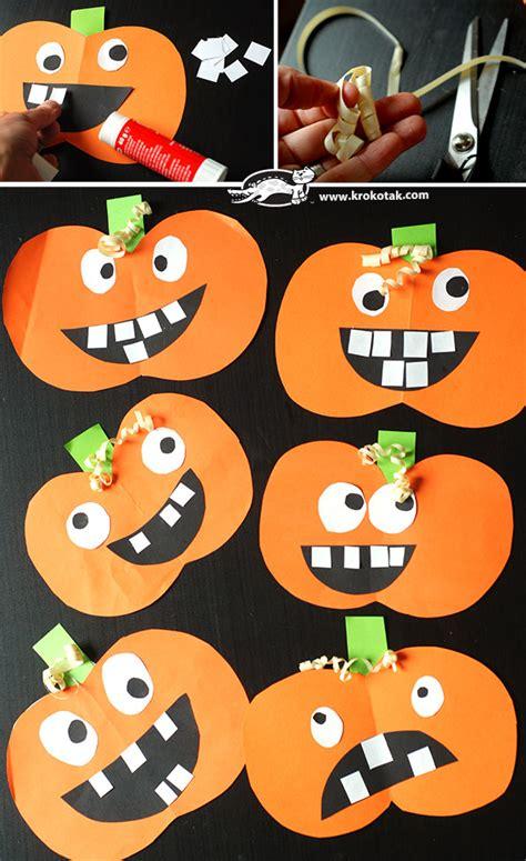 krokotak  time  pumpkins cut  glue
