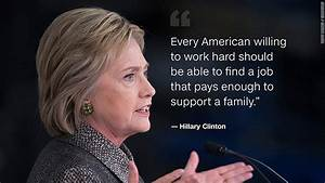 Hillary Clinton Quotes, Slogans & Sayings