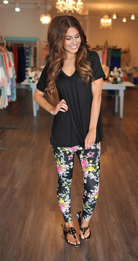 Pin by Leandra Reynosa Cruz on IwantThis | Pinterest | Floral jeans Print leggings and Pants