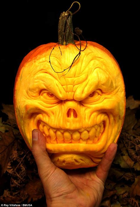 scary carved pumpkins 22 creepy and creative pumpkin carvings