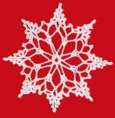 lacy snowflake  crochet pattern maggies crochet