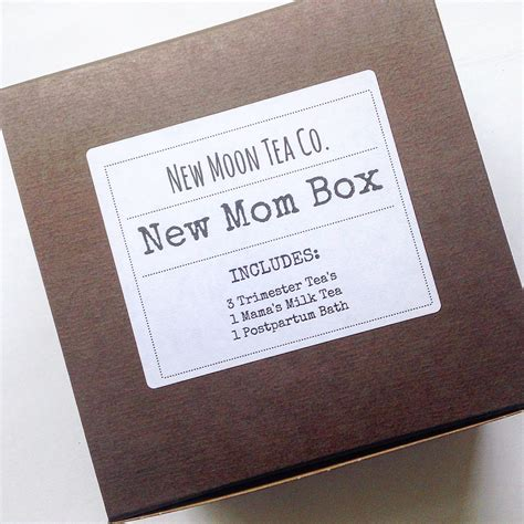 Expecting Mom Gift Baby Shower Gift Herbal By Newmoonteaco