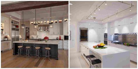 eclairage cuisine suspension îlot de cuisine et plan de travail 9 idées d 39 éclairage
