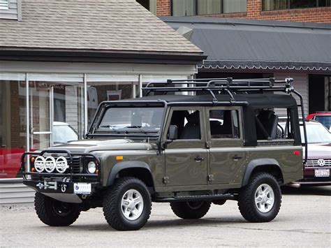 land rover defender convertible 1993 land rover nas defender 110 convertible 148 copley
