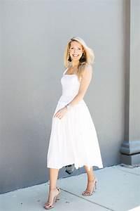 White cotton dress barneys - stuart weitzman heels - oscar ...  White