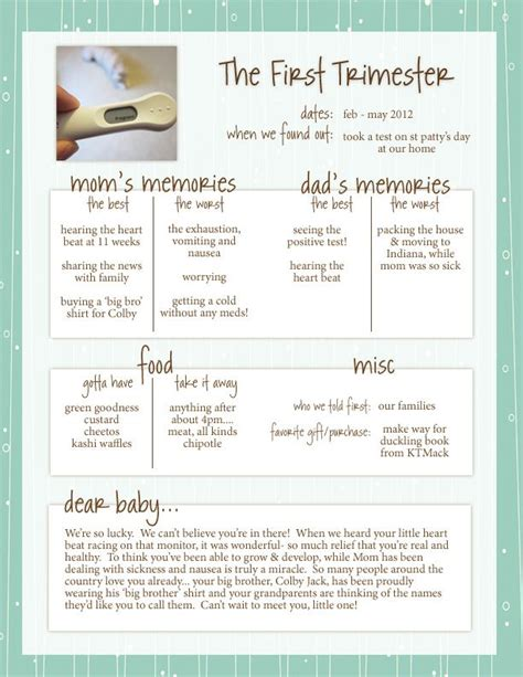 Pregnancy Journal Template by 25 Best Ideas About Pregnancy Journal On
