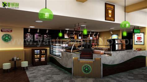 conceptual  modern cafe restaurant ideas  yantram interior concept drawings landon uk