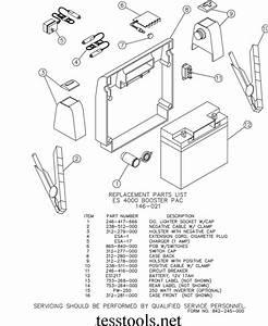 Clore  Century  Solar Model Es4000 Booster Pac Parts List