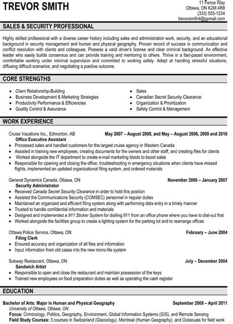 Professional Sales Resume Exles by Resume Sles By Resumetarget 16 Other Ideas To