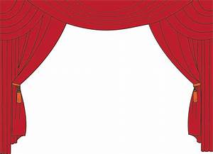 Animated Curtains Clipart images