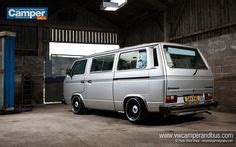 silver vw t3 t25 caravelle vw transporter silver